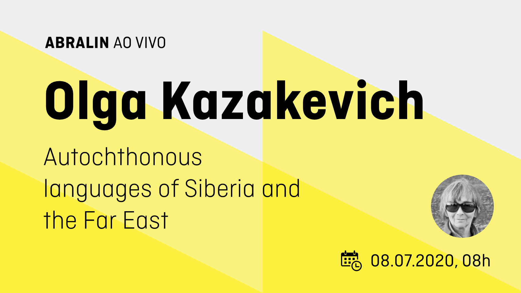 Лекция О. А. Казакевич 8 июля в 14:00 «Autochthonous languages of Siberia and the Far East: documentation, functioning, language contacts and language shift in ethno-local groups»